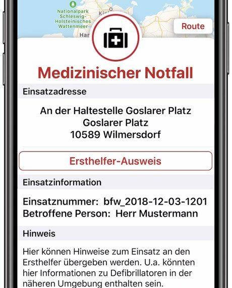 Ein Katretter-Alarm geht ein - ©️ Berliner Feuerwehr